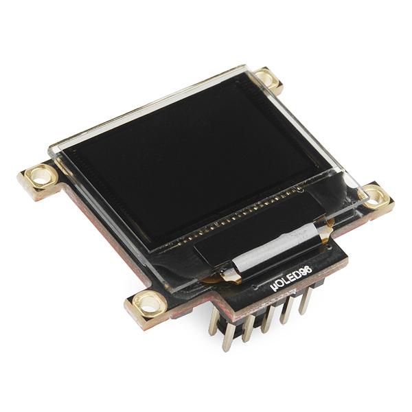 "Serial Miniature OLED Module - 0.96"" (uOLED-96-G2 GFX)"