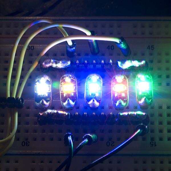 LilyPad LED Purple (5pcs)