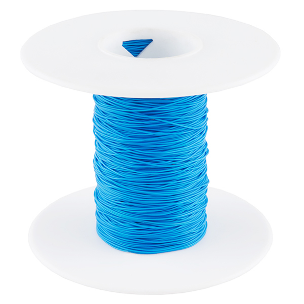 Wire Wrap Wire - Blue (30 AWG)