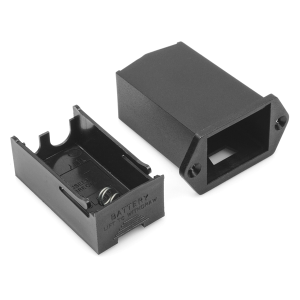 Battery Holder - 9V Drawer (Panel Mount)