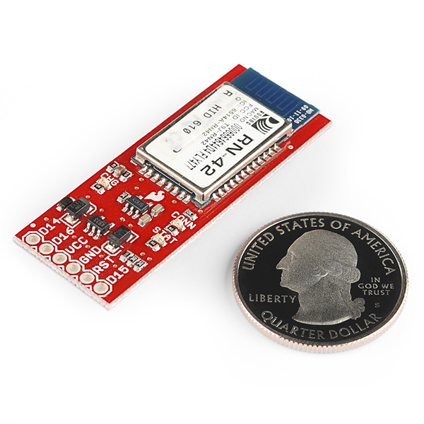 SparkFun Bluetooth and LiPo Add-On for Makey Makey