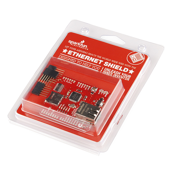 SparkFun Ethernet Shield - Retail