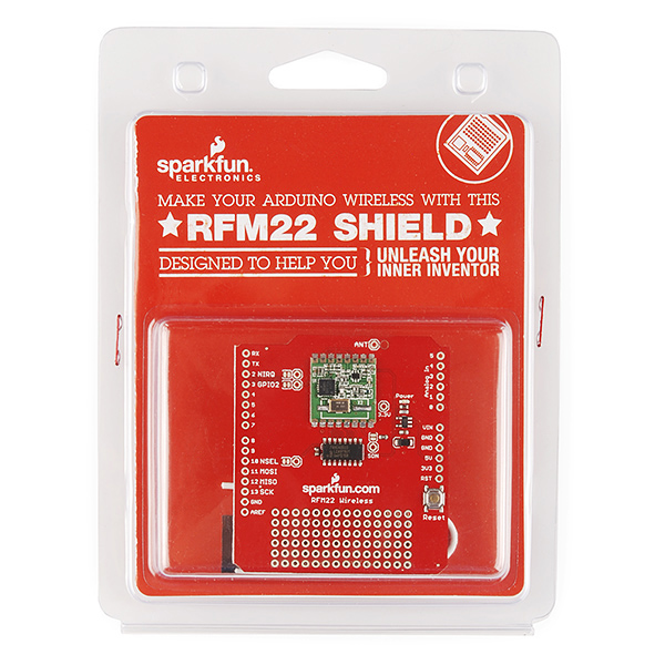RFM22 Wireless Shield Retail