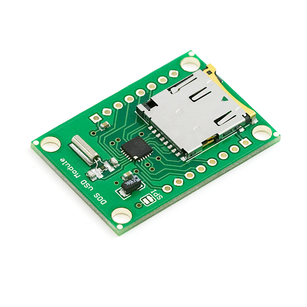 Breakout Board for DOSonCHIP FAT16 FAT32 uSD Module
