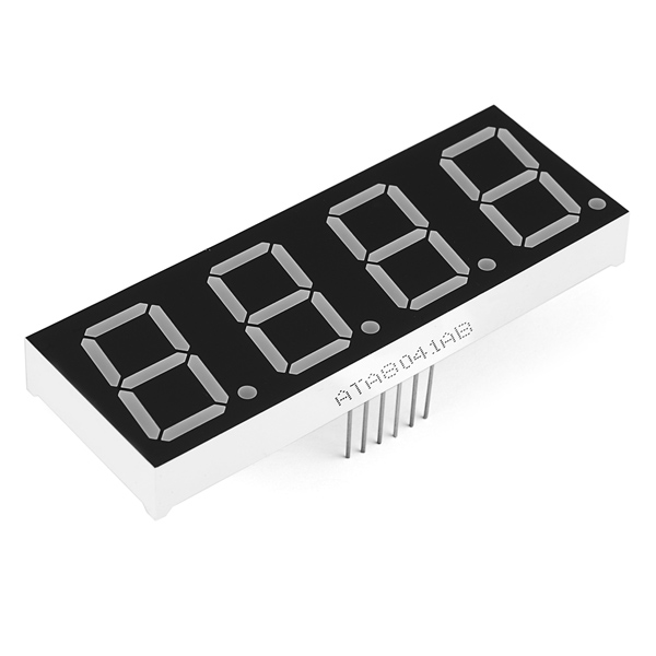 7-Segment Display - 20mm (Blue)