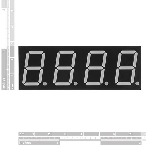 7-Segment Display - 20mm (White)