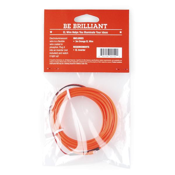 EL Wire - Orange Retail