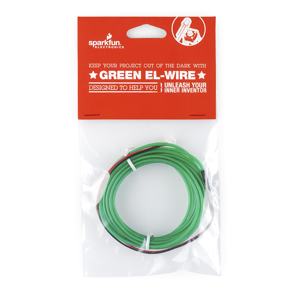 EL Wire - Green Retail