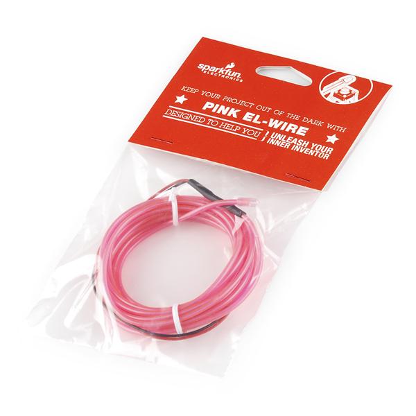 EL Wire - Pink Retail