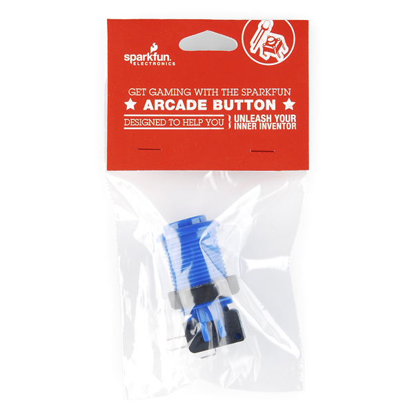 Blue Arcade Button Retail