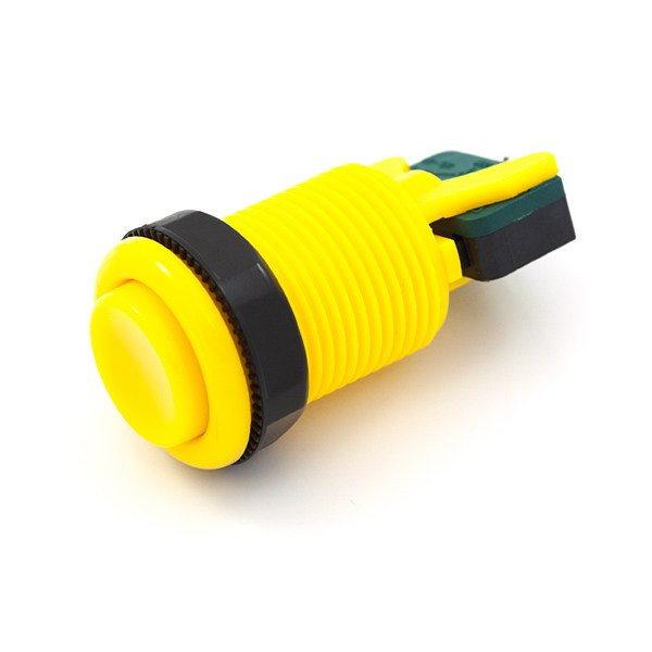 Yellow Arcade Button Retail