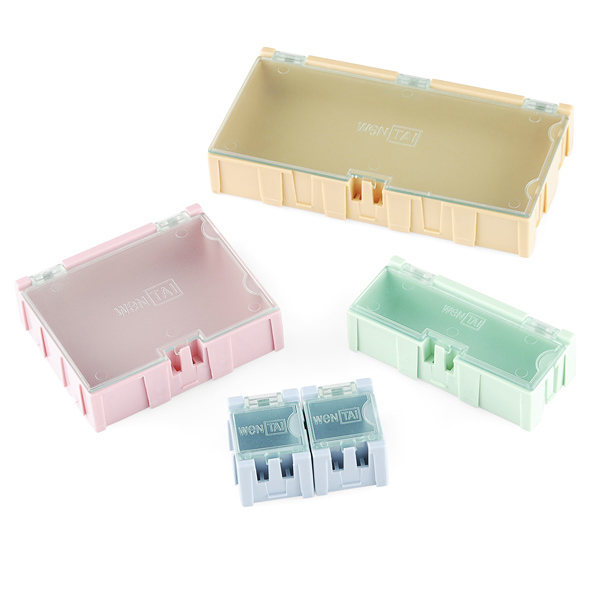 Modular Plastic Storage Box - Large (2 pack)