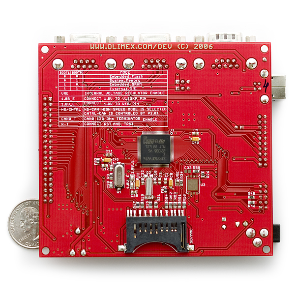 Development Board STR750 ARM