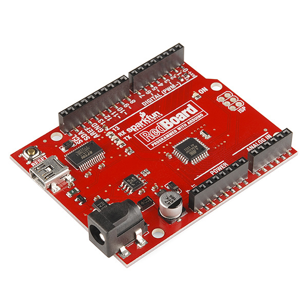 RedBoard - Programmed with Arduino