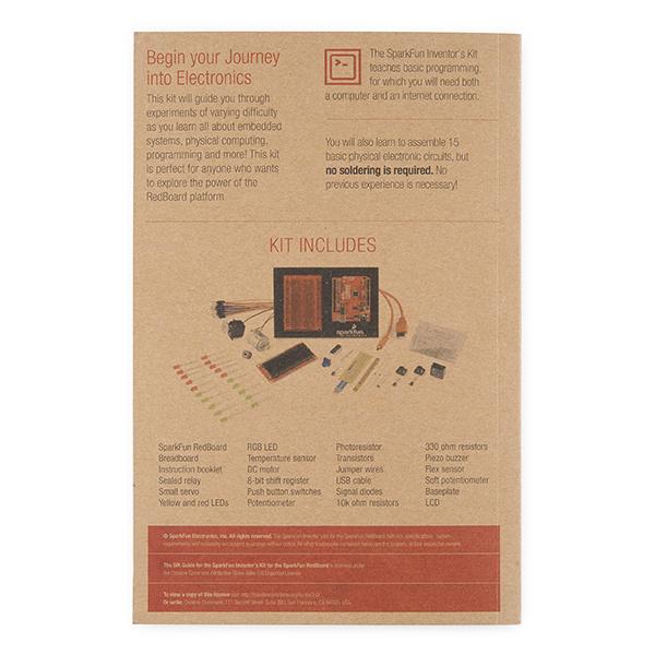 SparkFun Inventor's Kit Guidebook - V3