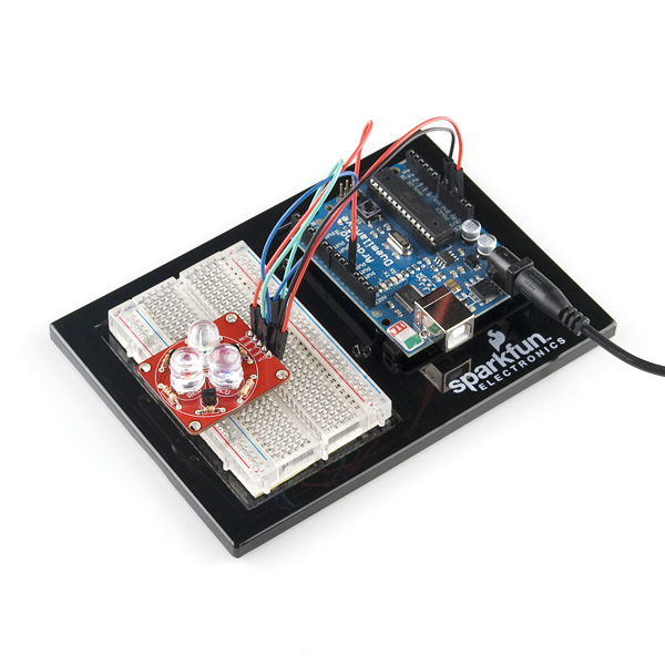 SparkFun Tri-Color LED Breakout Kit