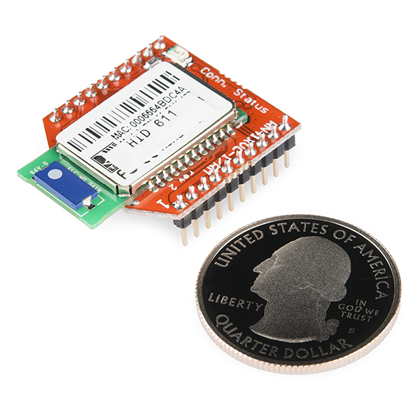 RN41-XV Bluetooth Module - Chip Antenna