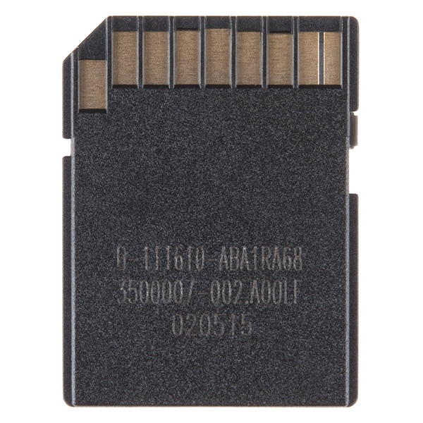 MicroSD Card with Adapter - 8GB