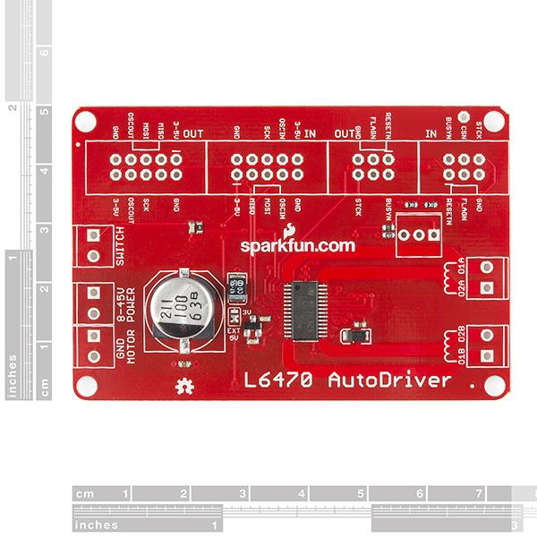 SparkFun AutoDriver - Stepper Motor Driver (v10)