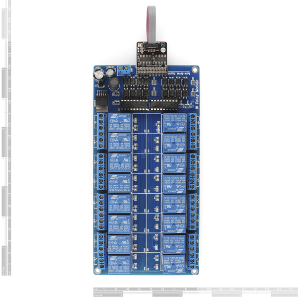 Gadgeteer - Relay ISOx16 Module