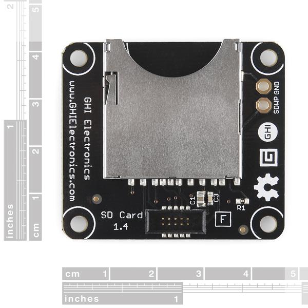 Gadgeteer - SD Card Module