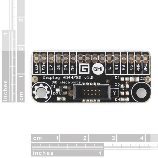 Gadgeteer - HD44780 Module