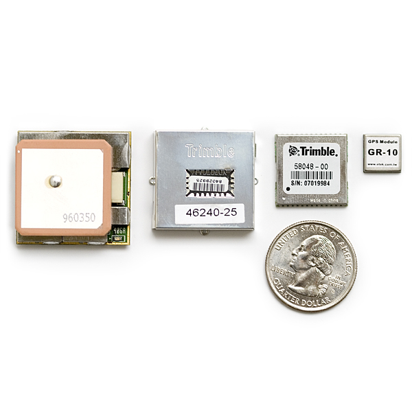 12 Channel Micro-miniature GR-10 GPS Receiver