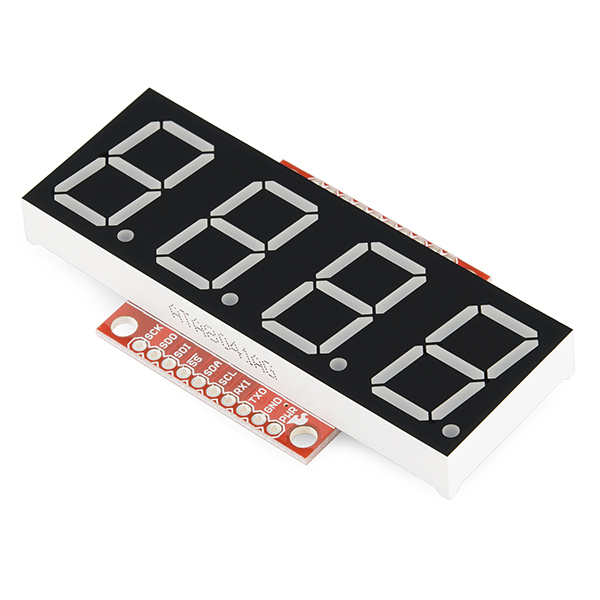 SparkFun OpenSegment Serial Display - 20mm (Red)