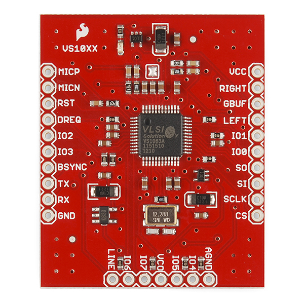SparkFun MP3 Breakout - VS1063