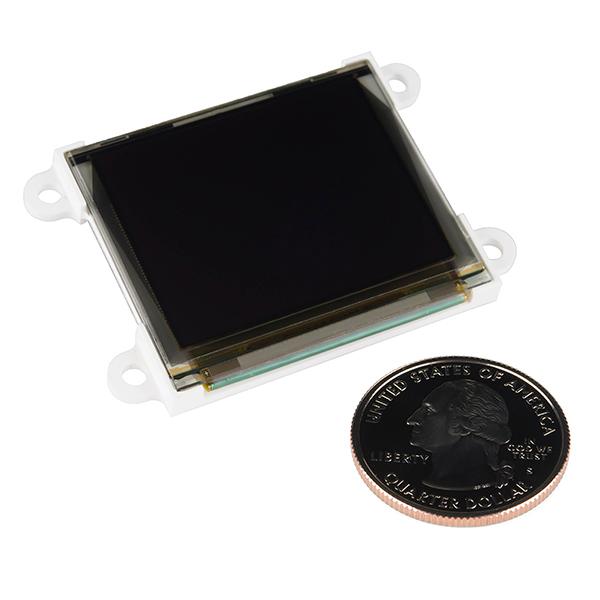 """Serial Miniature OLED Module - 1.7"""" (uOLED-160-G2)"""