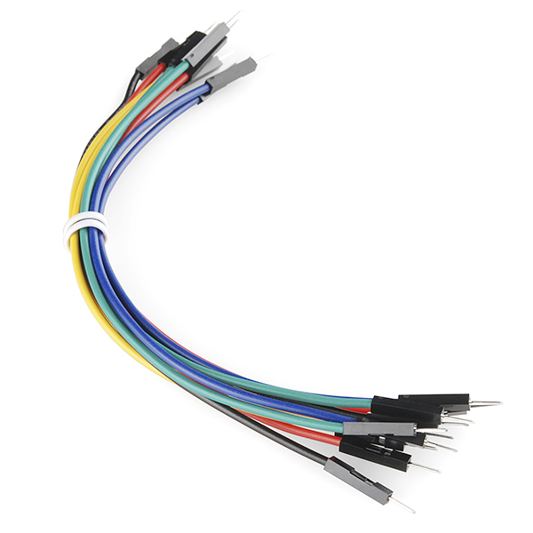 Jumper wires premium 6 mm 20 awg 10 pack prt 11709 jumper wires premium 6 mm 20 awg 10 greentooth