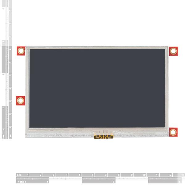 "Arduino Display Module - 4.3"" Touchscreen LCD"