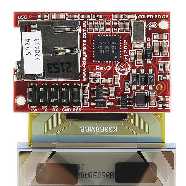"""Transparent OLED Module - 2"""" (uTOLED-20-G2 )"""