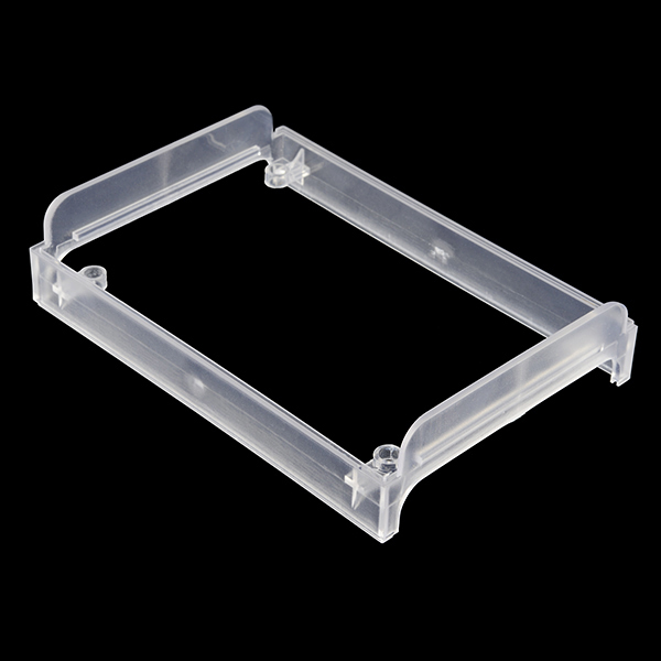 Enclosure for pcDuino/Arduino - Extension Plate (Clear)