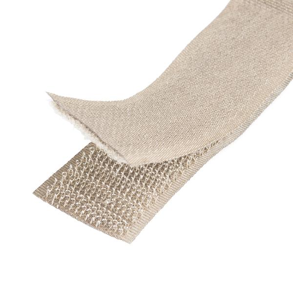 Conductive Hook & Loop Strip - 2.5 cm x 40 cm