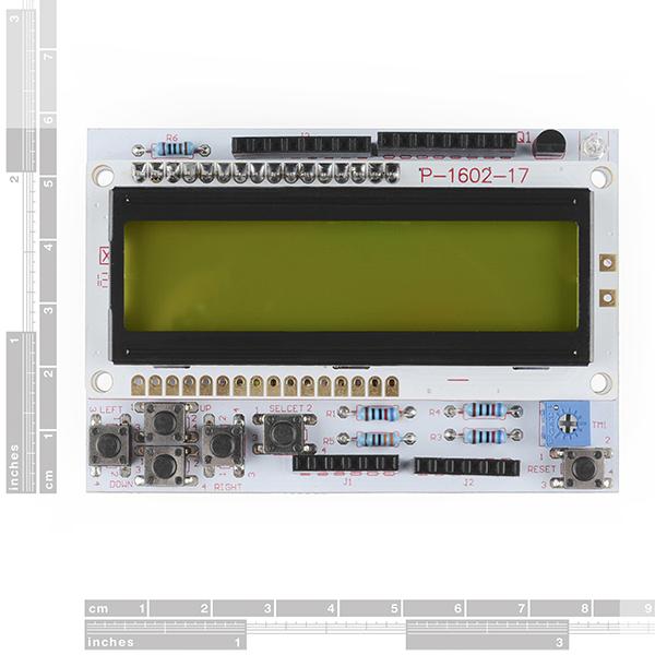 LCD Button Shield