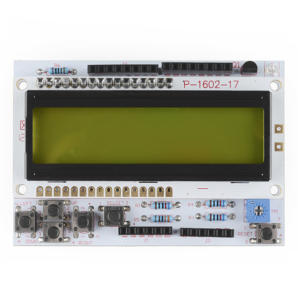 LCD Button Shield