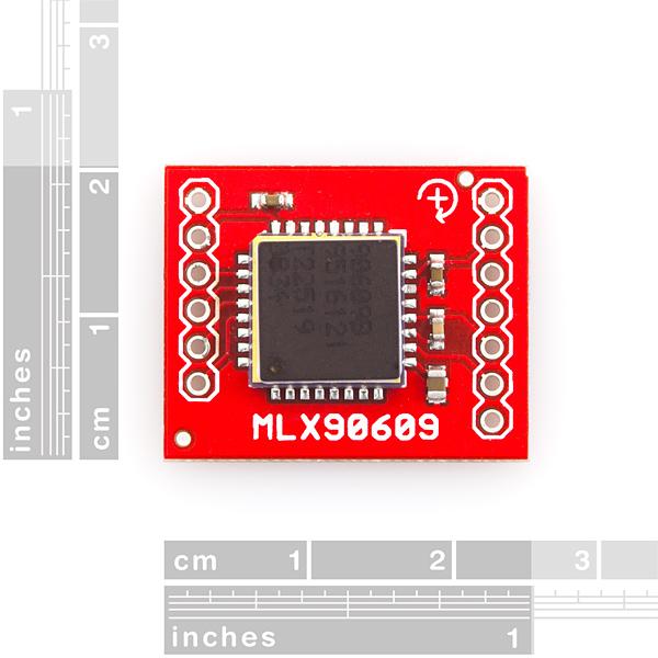 Gyro Breakout Board - MLX90609 - 75°/s