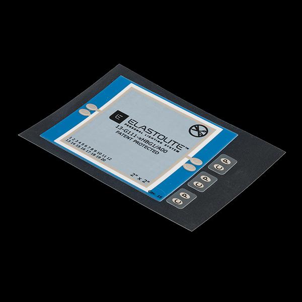ELastoLite Panel - 2x2 inches - Blue