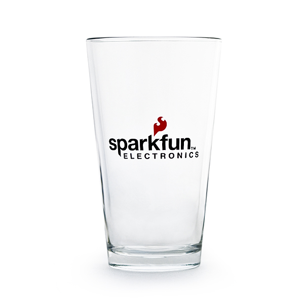 SparkFun Pint Glass