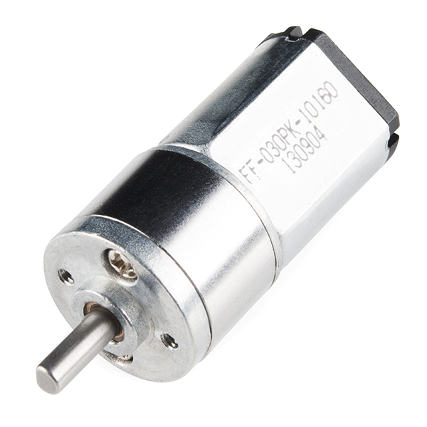 Mini Metal Gearmotor 105:1 (152 RPM)