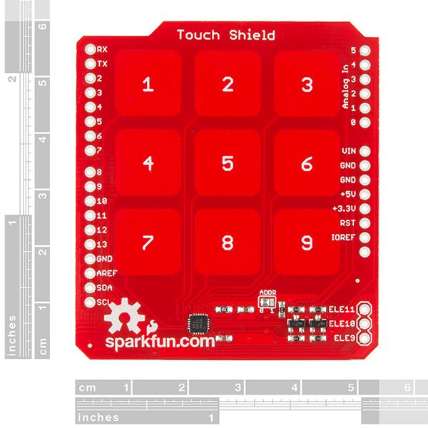 SparkFun Touch Shield
