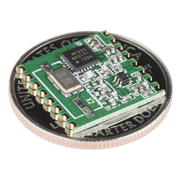 RFM22B-S2 SMD Wireless Transceiver - 915MHz