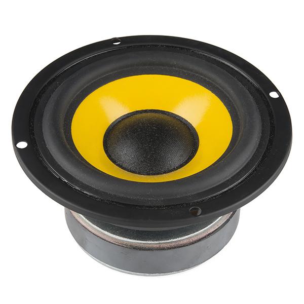 """Speaker - 4"""" Extended Range (25W, 8 ohm)"""
