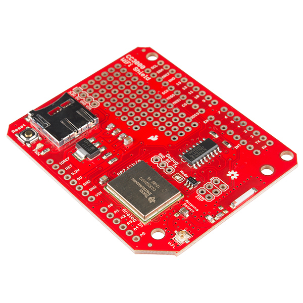 SparkFun WiFi Shield - CC3000