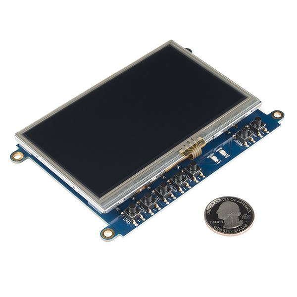 "Beaglebone Black Cape - LCD (4.3"")"