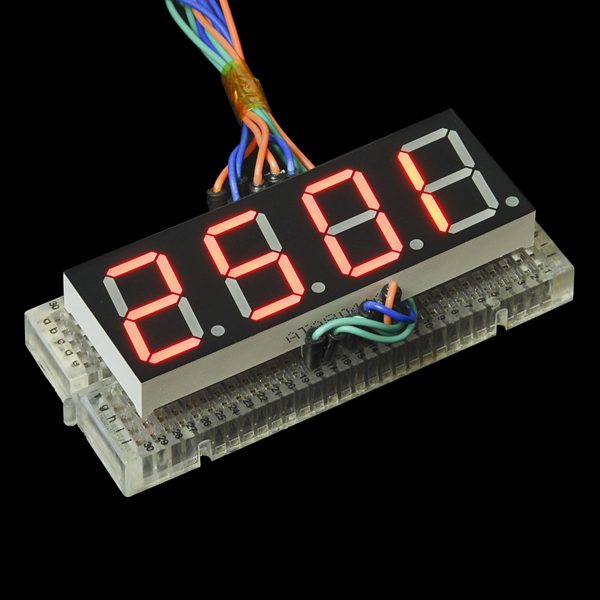 7-Segment Display - 20mm (Common-Anode, Red)