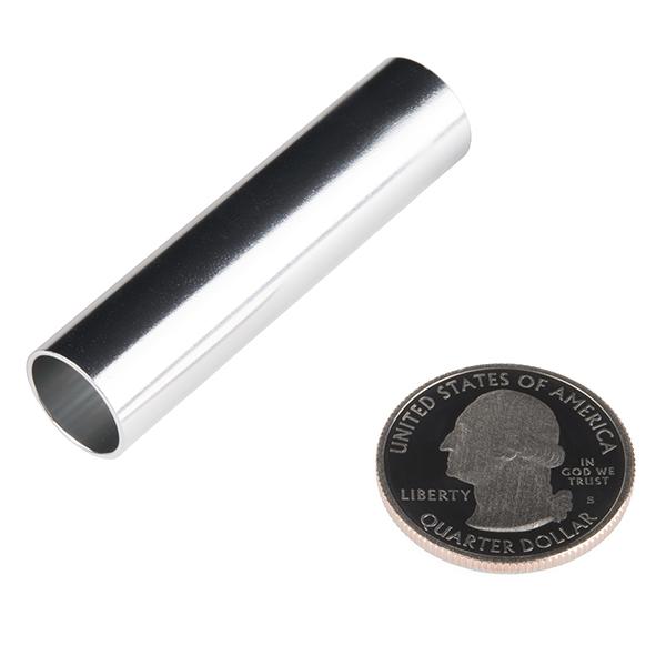 """Tube - Aluminum (1/2""""OD x 2.0""""L x 0.444""""ID)"""