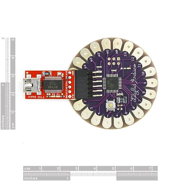 LilyPad Arduino 168 Main Board