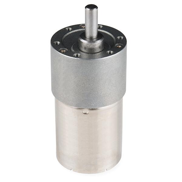 Precision Gearmotor - 10 RPM (6-12V)